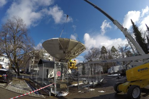 Antenna was de-installed by our technicians
