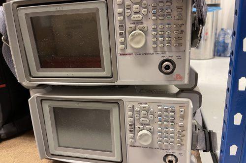 Advantest Spectrum Analyzer U3641 front view