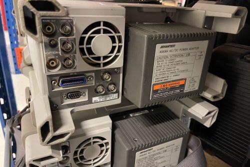 Advantest Spectrum Analyzer U3641 rear view