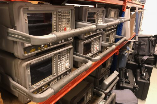 Agilent Spectrum Analyzer E4407B 2