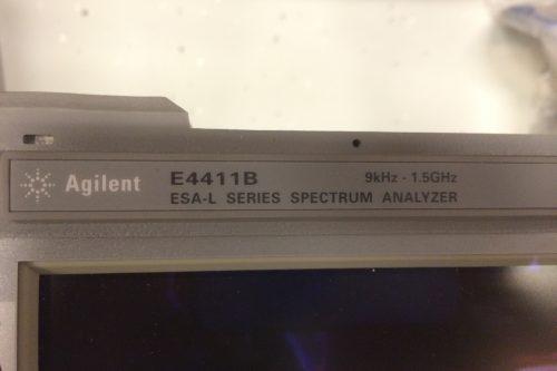 Agilent Spectrum Analyzer E4411B 1,5GHz detail