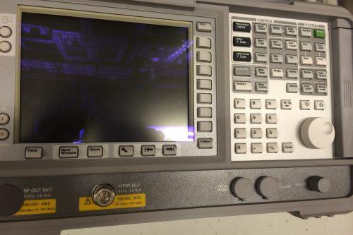 Agilent Spectrum Analyzer E4411B 1,5GHz front view