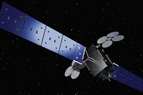 Al Yah 3 satellite in orbit