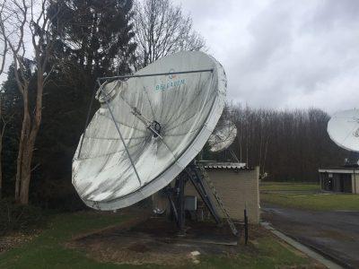 Andrew 7.6m Ku-band Earth Station antenna