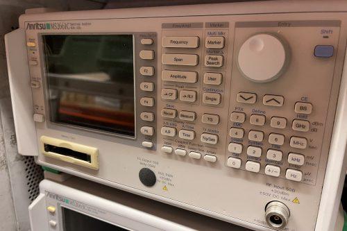Anritsu Spectrum Analyzer MS2661C front view
