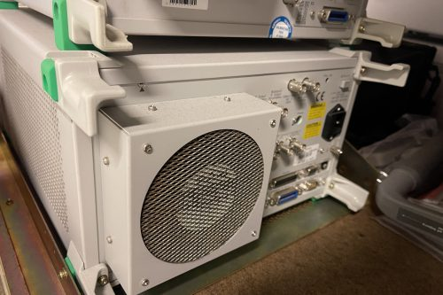 Anritsu Spectrum Analyzer MS2687B rear view