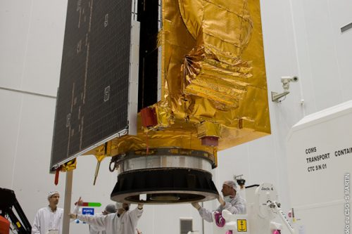ArabSat-5A encapsulated by Ariancespace