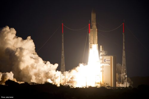 ArabSat-5A launched by Arianespace