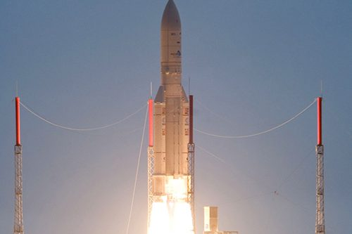 ArabSat-5C Launched on Ariane 5ECA