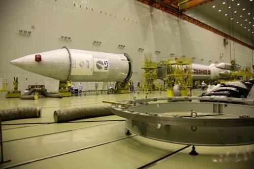 ArabSat BADR-5 on Proton rocket