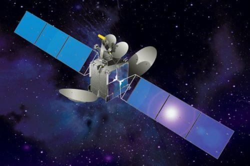 AsiaSat-5 Satellite in orbit