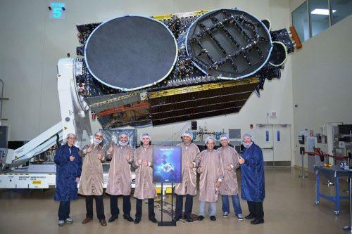 AsiaSat-6 satellite built by SSL