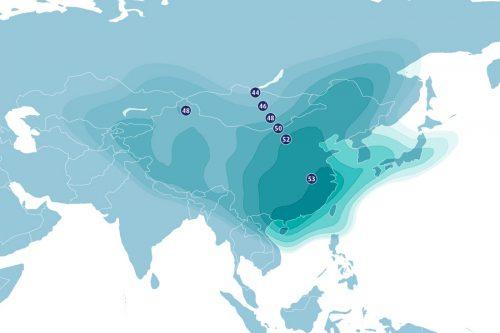 AsiaSat-7 Satellite Ku-band East-Asia beam