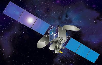 AsiaSat-7 Satellite in orbit
