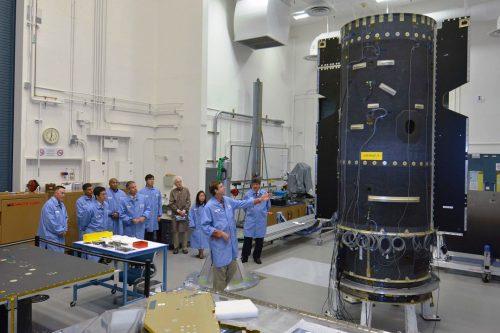 AsiaSat-9 Satellite under construction