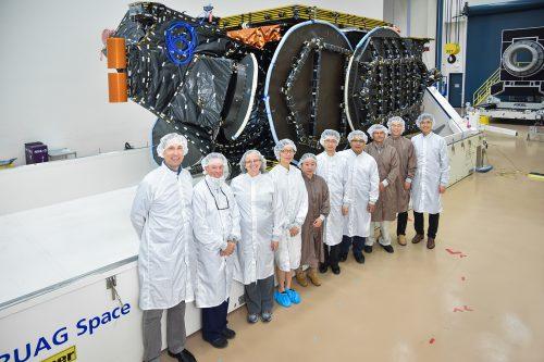 Asiasat-9 and SSL teams