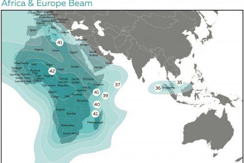 Azerspace-1 Africa & Europe C-band Beam