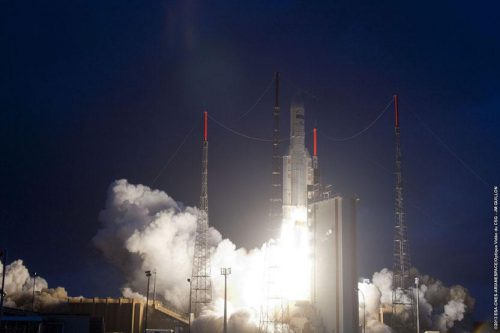 Azerspace-1 satellite launch