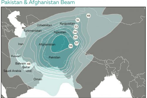 Azerspace-2 Pakistan & Afghanistan Ku-band Beam