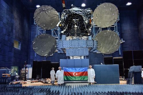 Azerspace-2 satellite testing