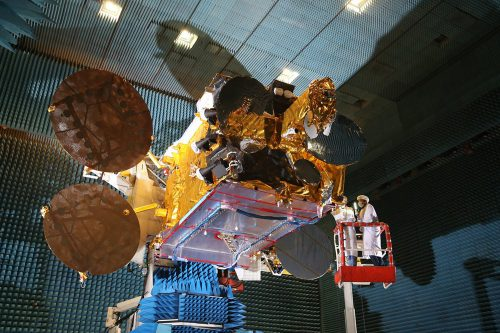 BADR-7:ArabSat-6b tested by Airbus
