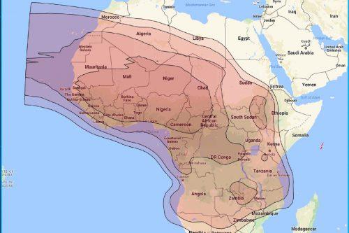 Belintersat-1 Africa Ku-band Beam
