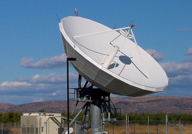 CPI 11.1m Large Fixed Earth Station Antenna