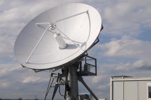 CPI 4.8m Compact Cassegrain Earth Station Antenna