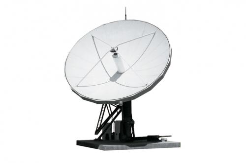 CPI 6.3m Compact Cassegrain Earth Station Antenna
