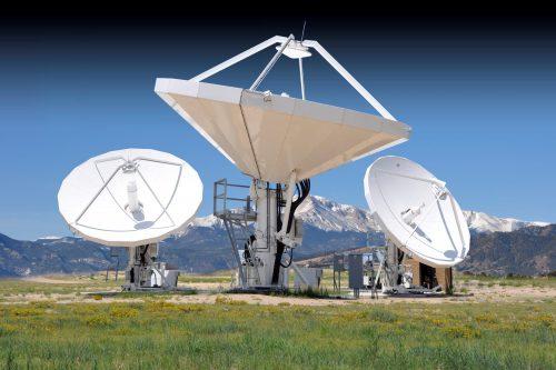 CPI 7.3m Cassegrain Earth Station Antenna
