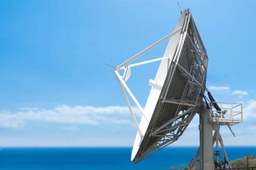 CPI 9.0m Cassegrain Earth Station Antenna