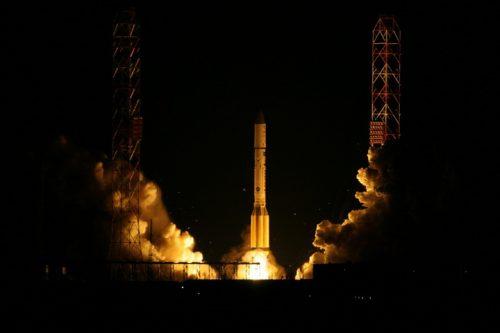 Express AM44 on ILS Proton rocket launch