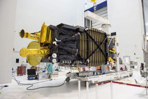 Hellas-Sat 3 satellite under construction
