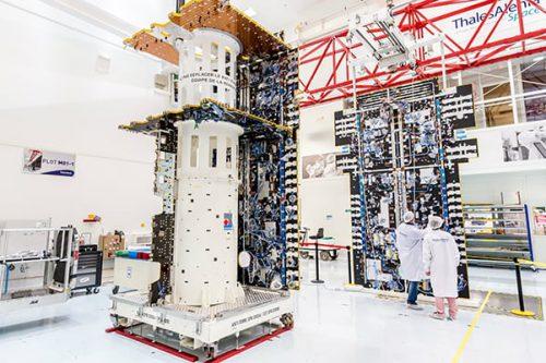 Hellas-Sat 3:EuropaSat satellite built by Thales Alenia Space