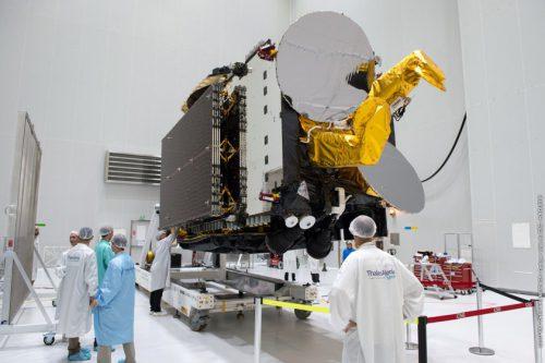 Hellas-Sat 3:inmarsat-S under construction