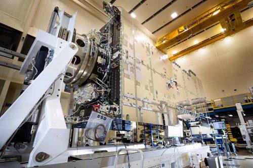 Hellas-Sat 4: SaudiGeoSat-1 under construction by Lockheed Martin