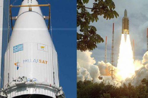 Hellas-Sat 4 satellite launch by Arianespace