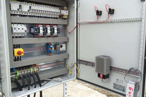 Caloplex de-icing outdoor cabinet