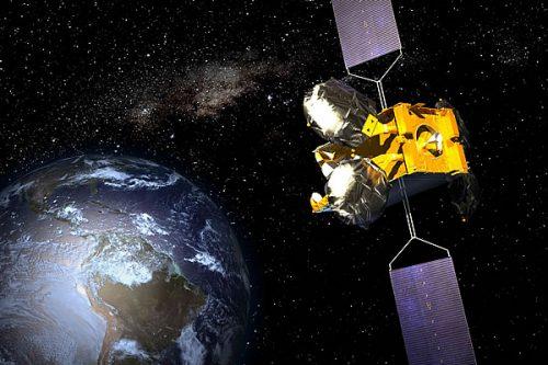 HispaSat Amazonas-2 satellite in orbit