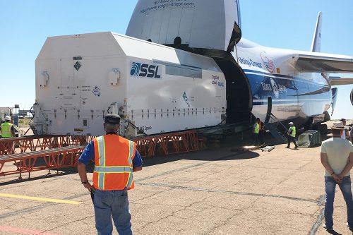 HispaSat Amazonas-5-arrival