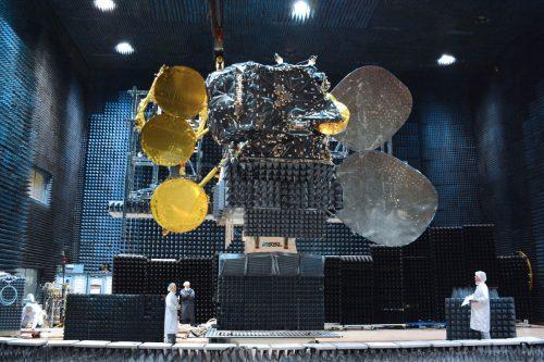 HispaSat Amazonas-5 satellite under construction