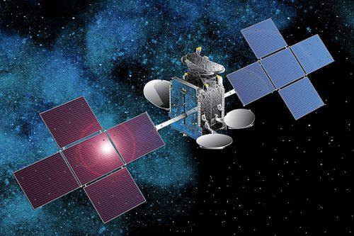 Hispasat 30W-5 (HispaSat-1E) satellite in orbit
