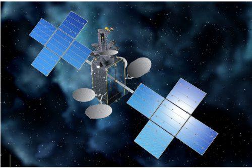 Hispasat 30W-6 (HispaSat-1D) satellite in orbit