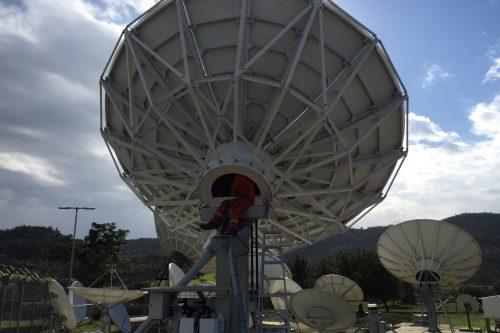 VertexRSI 7.2m Cassegrain KXC:KXK Earth Station Antenna
