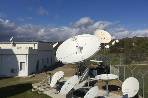 VertexRSI 7.2m Cassegrain KXC/KXK Earth Station Antenna
