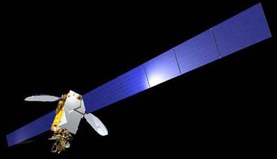 Intelsat-10-02 satellite in orbit