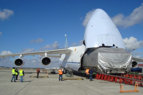 Intelsat 10-02 satellite transport