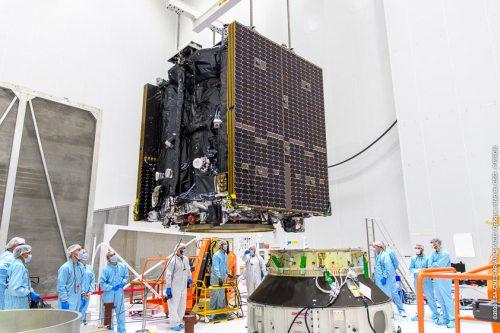 Intelsat Galaxy 30 under construction