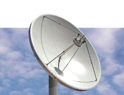Kratos 4.0m C- or Ku-band Earth Station Antenna