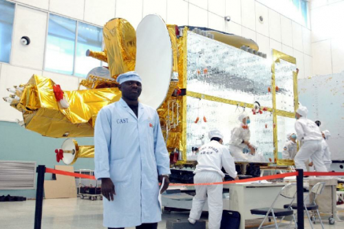 NigComSat-1R Spacecraft under construction